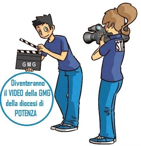Diventeranno il video della GMG della diocesi di Potenza ESCAPE='HTML'