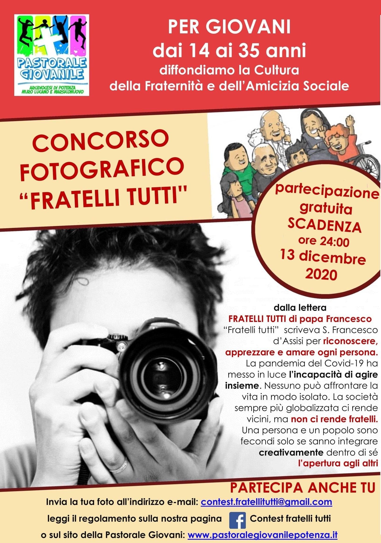 concorso fotografico Fratelli Tutti