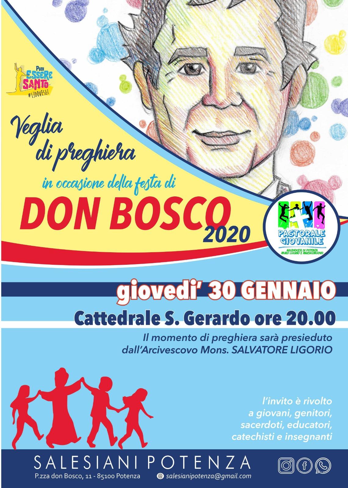 FESTA DI DON BOSCO 2020
